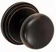 Fusion Hardware <br />01-B1 - Half Round Knob with Stepped Rose