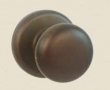 Fusion Hardware <br />01-B2 - Half Round Knob with Radius Rose