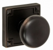 Fusion Hardware <br />01-E4 - Half Round Knob with Sonoma Rose