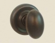 Fusion Hardware <br />02-A7 - Egg Knob with Contoured Radius Rose
