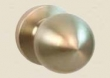 Fusion Hardware <br />03-A2 - South Beach Knob with Contemporary Rose