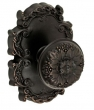 Fusion Hardware <br />35-C8 - Floral Knob with Victorian Rose