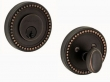 Fusion Hardware <br />B6 - Beaded Rose Deadbolt