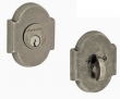 Fusion Hardware <br />E3 - Bordeaux Beveled Scalloped Deadbolt