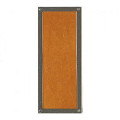 G153 Rectangular Designer escutcheon (+$330)