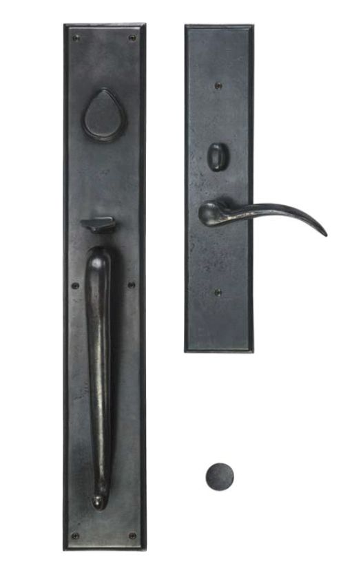 Rectangular Suite Grip x Lever Mortise Entrysets