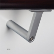 Halliday Baillie <br />HB 500 -  T Stair Rail Bracket, in aluminum