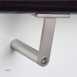 Halliday Baillie <br />HB 510 -  T Stair Rail Bracket Cast in Solid 316 Stainless Steel