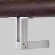 Halliday Baillie <br />HB 550 - Stair Rail Bracket, Open T, In Aluminum