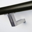 Halliday Baillie <br />HB 555 - Stair rail bracket, open T without Rose, Cast in Solid 316 Stainless Steel
