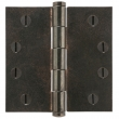 Rocky Mountain Hardware<br />HNG4B - 4&quot; x 4&quot; Square Corner Hinge  .125&quot; Thick