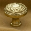 Cliffside - Cabinet<br />K-580-PB - CLIFFSIDE POLISHED BRASS CABINET KNOB K-580-PB