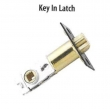 Emtek<br />Select the Finish - Key In Latch 2 3/8&quot;