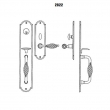 LaForge<br />2822-16 LF - TRIM NO. 2822 MORTISE HANDLE SET - DOUBLE CYLINDER