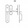 LaForge<br />2824-16 LF - TRIM NO. 2824 MORTISE HANDLE SET - DOUBLE CYLINDER