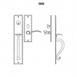 LaForge<br />2829-16 LF - TRIM NO. 2829 MORTISE HANDLE SET - DOUBLE CYLINDER