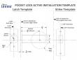 Linnea Stainless Steel Pl63r Pr Linnea Stainless Steel Round Pocket Door Lock At Door Hardware