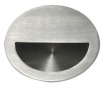Linnea Stainless Steel<br />RPR-90 - Round Recessed Flush Pull