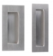 Linnea Stainless Steel<br />RPS-150 - Square Recessed Flush Pull