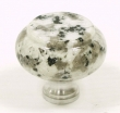 Top Knobs<br />M124C - M124C Luna Pearl Granite 1 3/8&quot; with Chrome base