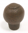 Top Knobs<br />M441 - M441 Pommel knob 1&quot; in Rust