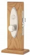 Emtek<br />3502 - MEMPHIS MORTISE ENTRY DOOR LOCKS