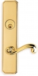 Omnia<br />11055 - Omnia Solid Brass Mortise Lever Lockset- 11055