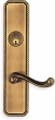 Omnia<br />24570 - Omnia Solid Brass Mortise Lever Lockset- 24570