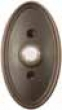 Emtek<br />2402 EMTEK - DOORBELL BUTTON WITH OVAL ROSETTE