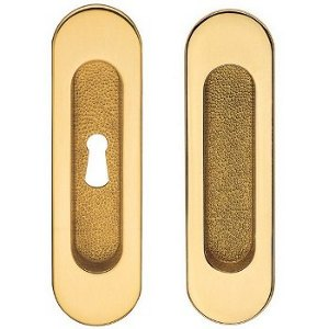 Brass Pocket Door Hardware <br> Valli & Valli