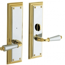Baldwin - REPUBLIC PRIVACY SET WITH THUMBTURN KNOB - 3 5/16