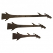 Rocky Mountain Hardware<br />Custom Straps. Call for Price - Dragon Hinge Straps