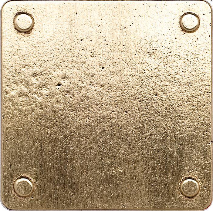 Silicon Bronze Brushed (SAB) CuVerro Antimicrobial - Kills 99.99% of Bacteria!