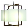 Rocky Mountain Hardware<br />C405FB - Double Cube Chandelier with Flat Box