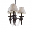 Rocky Mountain Hardware<br />C525 - Three-Arm Towne Chandelier with Crystals