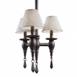 Rocky Mountain Hardware<br />C525 - Three-Arm Towne Chandelier with Prisms