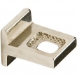 Rocky Mountain Hardware<br />CK20115 - TAB CABINET PULL SQUARE 7/8&quot;