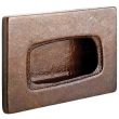 Rocky Mountain Hardware<br />CK20145 - TAB CABINET PULL 1 7/8&quot; x 3&quot;