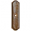 Rocky Mountain Hardware<br />CKR105 - ARCHED CABINET ROSE 7/8&quot; x 3-1/4&quot;