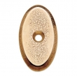 Rocky Mountain Hardware<br />CKR50 - OVAL CABINET ROSE 1&quot;