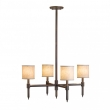 Rocky Mountain Hardware<br />Custom 4-Arm Chandelier - Custom Chandelier
