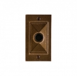 Rocky Mountain Hardware<br />DBB-E21005 - Mack Doorbell Button 2 1/2&quot; x 4 1/2&quot;