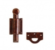 Rocky Mountain Hardware<br />DDB7 - DUTCH DOOR BOLT, RECTANGULAR MOUNTING BRACKETS