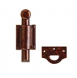 Rocky Mountain Hardware<br />DDB7 Dutch Door Bolt 6&quot; - DDB7 Dutch Door Bolt, Rectangular Mounting Brackets