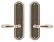 Rocky Mountain Hardware<br />E056/E056 - 3&quot; X 11&quot; ELLIS ESCUTCHEONS - FULL DUMMY