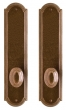 Rocky Mountain Hardware<br />E060/E060 - 3&quot; X 13&quot; ELLIS ESCUTCHEONS - FULL DUMMY