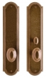 Rocky Mountain Hardware<br />E060/E063 - 3&quot; X 13&quot; ELLIS ESCUTCHEONS - PATIO