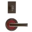 Rocky Mountain Hardware<br />E101/E101/DB202 - 3 1/2&quot; ROUND DESIGNER ESCUTCHEONS - ENTRY