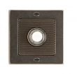 Rocky Mountain Hardware<br />E103  - DBB Door Bell Button Designer Escutcheon 3&quot; x 3&quot;