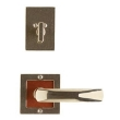 Rocky Mountain Hardware<br />E103/E103/DB202 - 3&quot; SQUARE DESIGNER ESCUTCHEONS - ENTRY